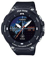 New Casio Wrist Watch Smart Outdoor Protrek Smart WSD-F20-BK with GPS for Mens