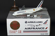 "Air France A380 F-HPJE ""Chine France 50""  JC Wings 1:200 Diecast Model XX2451"
