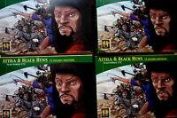 4 x Attila & Black Huns - Hunnen 48 Reiter - Lucky Toys 1:72 Figuren Sammlung xx