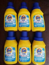 6 Tide Simply Clean & Fresh REFRESHING BREEZE Liquid Laundry Detergent 10-oz ea