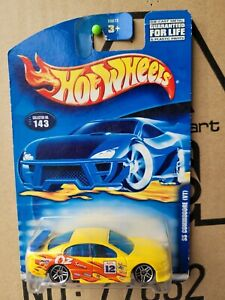 HOT WHEELS 2001 HOLDEN COMMODORE SS VT [YELLOW] CAR MINT CARD EXCELLENT VHTF