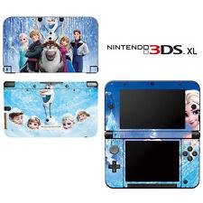 Vinyl Skin Decal Cover for Nintendo 3DS XL LL - Frozen