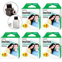 Fujifilm INSTAX SQUARE Fuji Instant Film 100 Photo Exposure Sheets