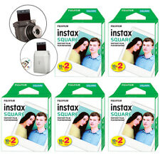 Fujifilm INSTAX SQUARE Fuji Instant Film 100 Photo Exposure Sheets