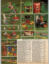1978 PAPER AD Snoopy Peanuts Cartoon Characters Stretch Armstrong Monster toy
