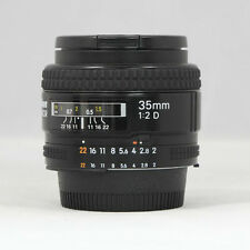 Used Nikon Nikkor 35mm F2.0D / 35.2d / AF Lens for Nikon