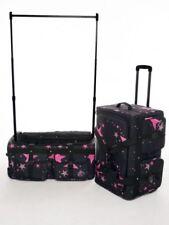 Rac N Roll Rolling Travel Dance Bag NEW - Medium Pink Star