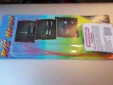 RC Neon électroluminescent éclairage corail fluo licence plaque