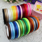 25 Yards Satin Ribbon Wedding Party Decoration DIY Craft Sewing Many Width
