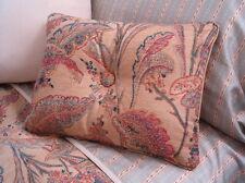 NEW Custom Ralph Lauren Coco Palm Leaf Print Accent Pillow 1 Button