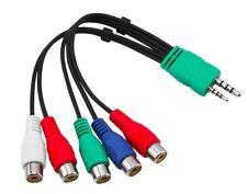 Televisor Led Samsung UE40D6750WKXXU Audio Video Cable Adaptador Componente AV