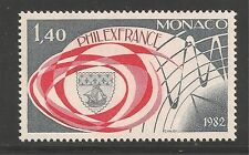 Monaco #1335 (A386) VF MINT NH - 1982 1.40fr PHILEXFRANCE '82 Stamp Exhibition