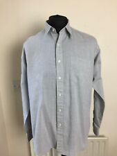 SAINT LAURENT YSL Men's Shirt  Grey Cotton really nice pattern size42 161/2