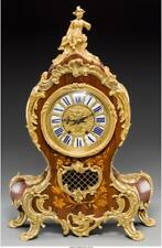 A Louis Xv-Style Gilt Bronze And Marquetry Bracket Clock, 19Th Cent. Lot 65986