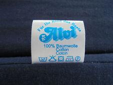 ALVI Matratze für Reisebett, Babybett- Matratze 60 x 120 x 6 cm blau