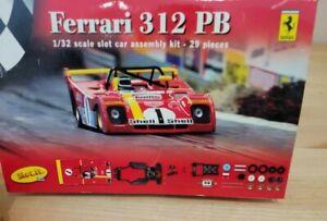 Slot car 1/32 scale Ferrari 312 PB Kit
