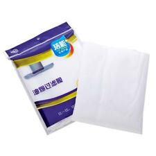 12pcs Clean Cooking Nonwoven Range Hood Filter Kitchen Oil Filter Papers