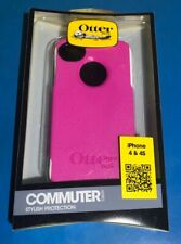 OtterBox Commuter case Apple iPhone 4/4s, PET screen protector, Pink & White!!!!