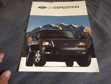 2005 Ford Expedition SUV Color Brochure Catalog Prospekt