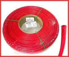 Geflochtene Glasfaserschlauch mit Acrylharz beschichtet Rot D 5,00mm 100 Meter