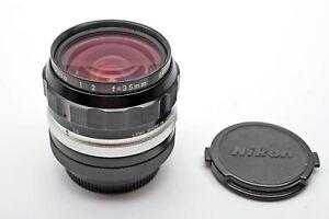 Nikon 35mm F2 Nikkor-O.C  Manual non-Ai Lens 35/2.0 Wide angle Prime+FAST+BEAUTY