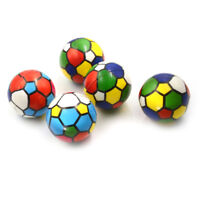 6.3cm Colorful Sponge Foam Ball Squeeze Stress Ball Relief Toy PU Rubber Toy Gw