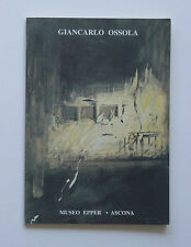 Giancarlo Ossola, Visioni del notturno, Ascona, Museo Epper Claudio Cerritelli