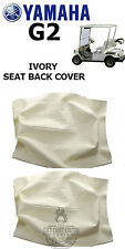 Yamaha G2 Golf Cart IVORY Seat BACK Cover J55-K841G (2) Covers
