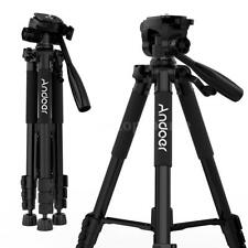 ANDOER 57.5''LIGHTWEIGHT CAMERA TRIPOD FOR DSLR SLR MOBILEPHONE SPORTS CAM K9R0