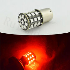 2 x BAU15S LED Red Turn Signal Light Bulb PY21W Backup Tail 2835 SMD AC 12V 24V