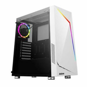Antec Nx300 Atx Gaming Case With Window Tempered Glass Argb Rear Fan & Fron