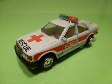 MADE IN CHINA MERCEDES BENZ - AMBULANCE RESCUE  - 1:43? WHITE - GOOD CONDITION