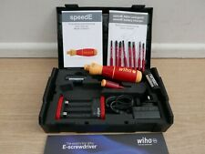 BRAND NEW WIHA 42267 SPEEDE CORDLESS VDE SCREWDRIVER SET 2