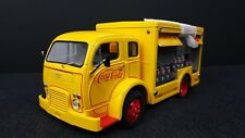 Danbury Mint 1955 COCA COLA DELIVERY TRUCK 1/24TH YELLOW COOL