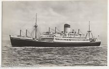 Shaw Savill Line, S.S. Ceramic Shipping RP Postcard, B544