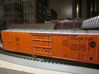 N &W  EXPRESS REFRIGERATED MECHANICAL REEFER 60 'ATHEARN 1/87 RTR MISSOURI PACI