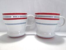 starbucks bistro stripe 2007 mugs original