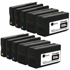 10 Pack HP 950 XL 951 XL Ink Cartridge for Officejet Pro 8610 8600 Premium Plus