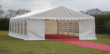 Marquee 500gsm PVC 6 x 12 Heavy Duty Wedding Party Tent, (Not Cheap Chinese PVC)