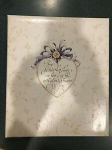 Hallmark Wedding Photo Album - Self Adhesive Pages - Post Bound - New