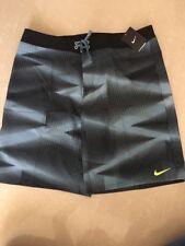 Nike Vapor Boardshorts,  Black/Blue Size 38