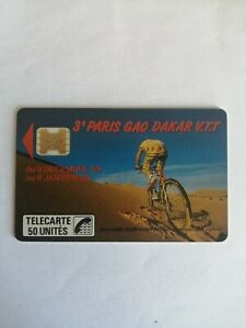 TELECARTE FRANCE PRIVÉE /D132/PARIS GAO DAKAR VTT