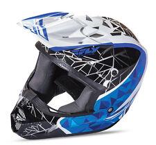Fly Racing Kinetic Crux Helmet Motocross Dirt Bike Offroad MX ATV Snowmobile '17