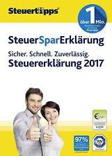 Steuer-Spar-Erklärung 2018 (Steuerjahr 2017) Deutsch Akademische Arbeitsgem. CD