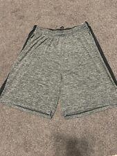 Mens Shorts Reebok Size 2xl Gray Nylon Athletic