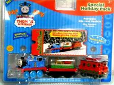 THOMAS AND FRIENDS - 2004 TAKE ALONG REINDEER EXPRESS W/SNOWGLOBE HOLIDAY *NEW*