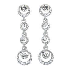New Fashion Women Lady Elegant Crystal Rhinestone  Dangle Ear Stud Earrings !