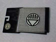 DC Comics Blackest Night Rise of the Black Lanterns Gray Denim Bi-Fold Wallet