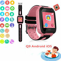 Anti-lost Kids Safe GPS Tracker SOS Call GSM Smart Watch Phone Q9