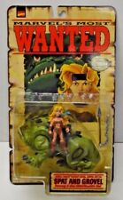 Marvel's Most Wanted Spat and Grovel X-Men Action Figure Toy Biz NIP 1998